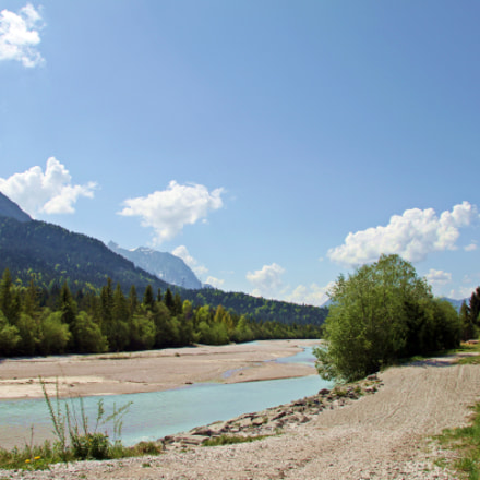 Isar river in Wallgau, Canon EOS 500D, Sigma 18-200mm f/3.5-6.3 DC OS