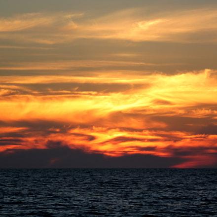 Baltic sunset, Canon EOS KISS X3, Tamron SP 35mm f/1.8 Di VC USD + 2x