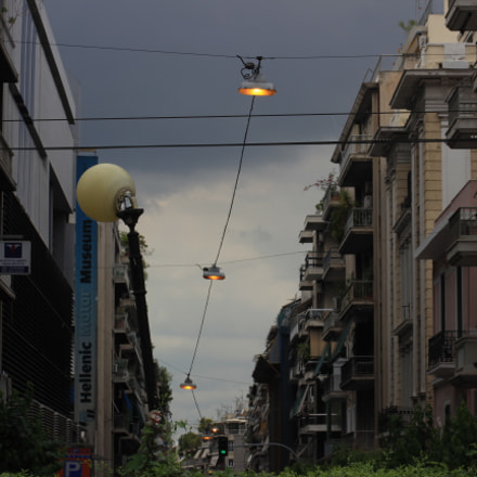 street of Athens, Canon EOS 600D