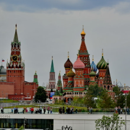 My Moscow, Nikon D5200, AF-S DX VR Nikkor 55-300mm f/4.5-5.6G ED
