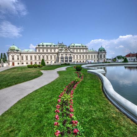 Belvedere Wien, Nikon D800E, AF-S Zoom-Nikkor 14-24mm f/2.8G ED