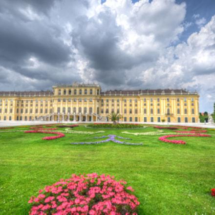 Schloß Schönbrunn, Nikon D800E, AF-S Zoom-Nikkor 14-24mm f/2.8G ED