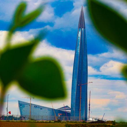 St. Petersburg skyscraper Lakhta, Canon POWERSHOT SX540 HS