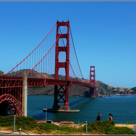GOLDEN GATE BRIDGE SAN, Canon EOS 1200D, Canon EF-S 18-55mm f/3.5-5.6 IS II