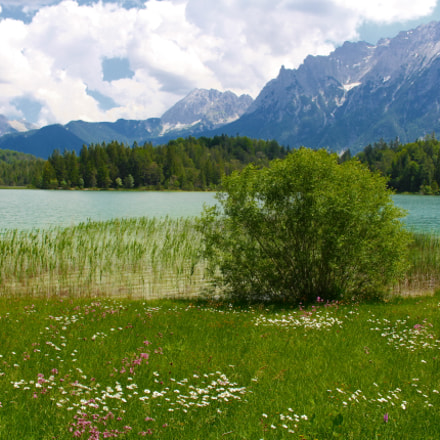 Lautersee/Lake Lauter, Canon EOS 100D, Canon EF-S 18-55mm f/3.5-5.6 IS STM