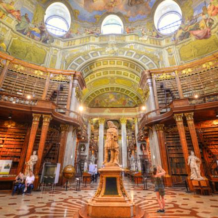 Nationalbibliothek Wien, Nikon D800E, AF-S Zoom-Nikkor 14-24mm f/2.8G ED