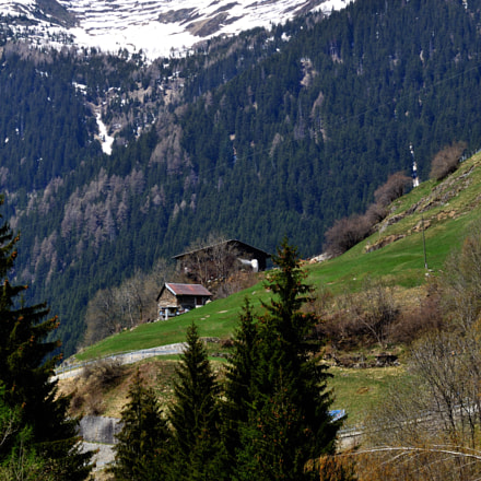 Suisse Panorama, Nikon D3100, Tamron SP 70-300mm f/4-5.6 Di VC USD (A005)