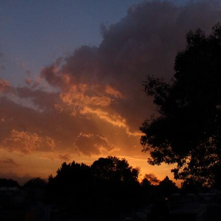 Sundown in Mexico City, Canon EOS REBEL T6, Canon EF-S 18-55mm f/3.5-5.6 III