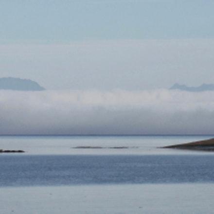 Paddling Toward the Fog, Fujifilm FinePix XP70 XP71 XP75