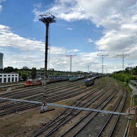 Railway station Losinoostrovskaya in, Panasonic DMC-TZ60