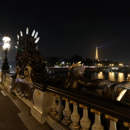 Le Pont Alexandre III, Canon EOS 77D, Canon EF-S 10-18mm f/4.5-5.6 IS STM