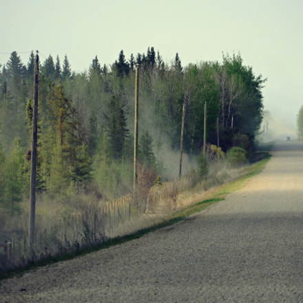 Dusty Gravel Road, Before, Nikon D3100, Sigma 18-200mm F3.5-6.3 DC OS HSM