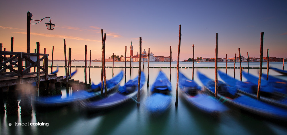 Photograph Gondolas of Venezia by Jarrod Castaing on 500px