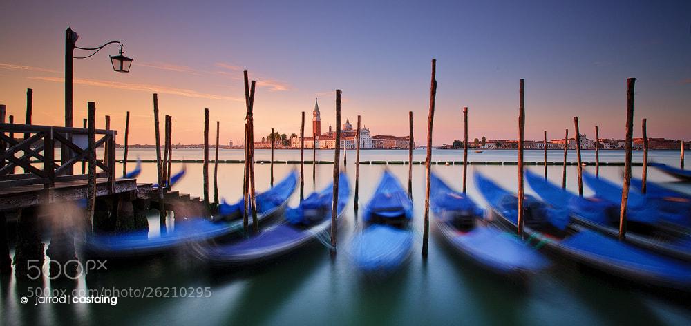 Photograph Gondolas of Venezia by Jarrod Castaing on 500px