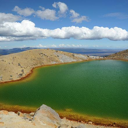 Tongariro national park lakes, Nikon D700