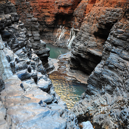 Kermi pool Karijini national, Nikon D700