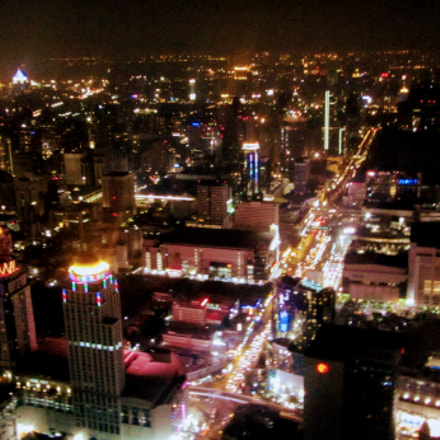 Bangkok by night, Canon POWERSHOT SX220 HS