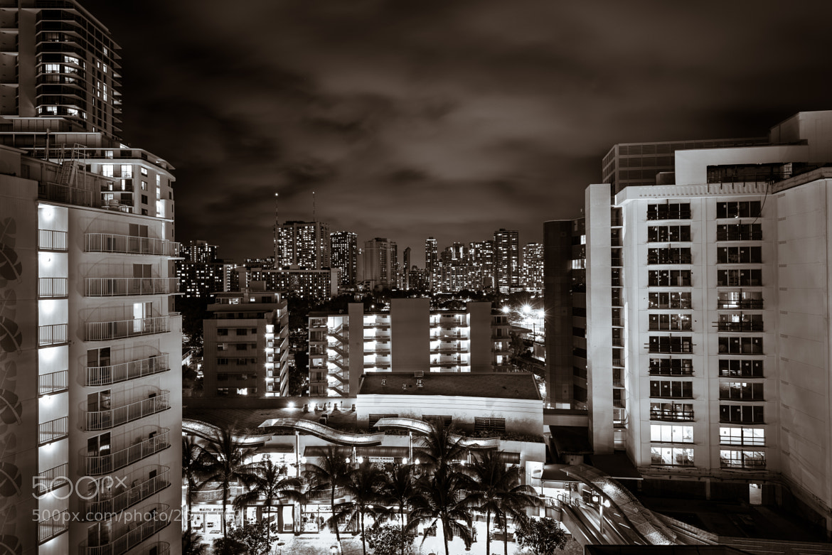 Photograph Honolulu Lights by Treven Wong on 500px