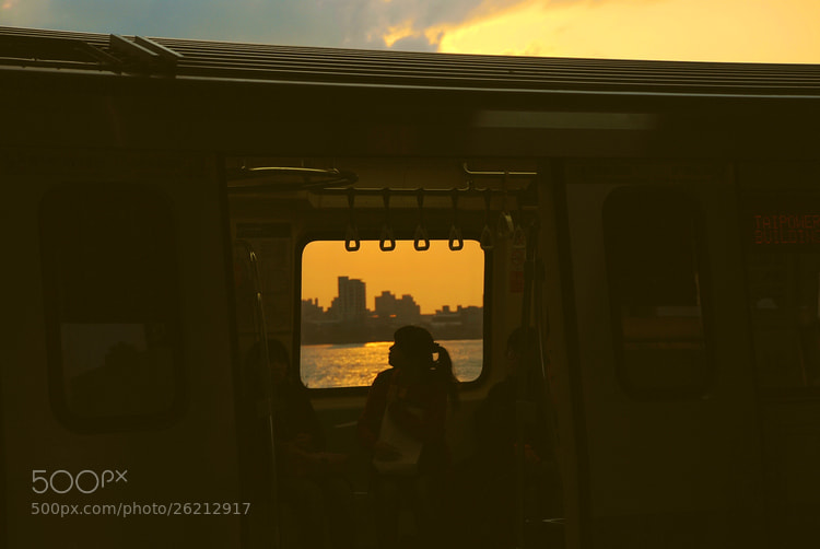 Photograph Journey sunset by cljb Y on 500px