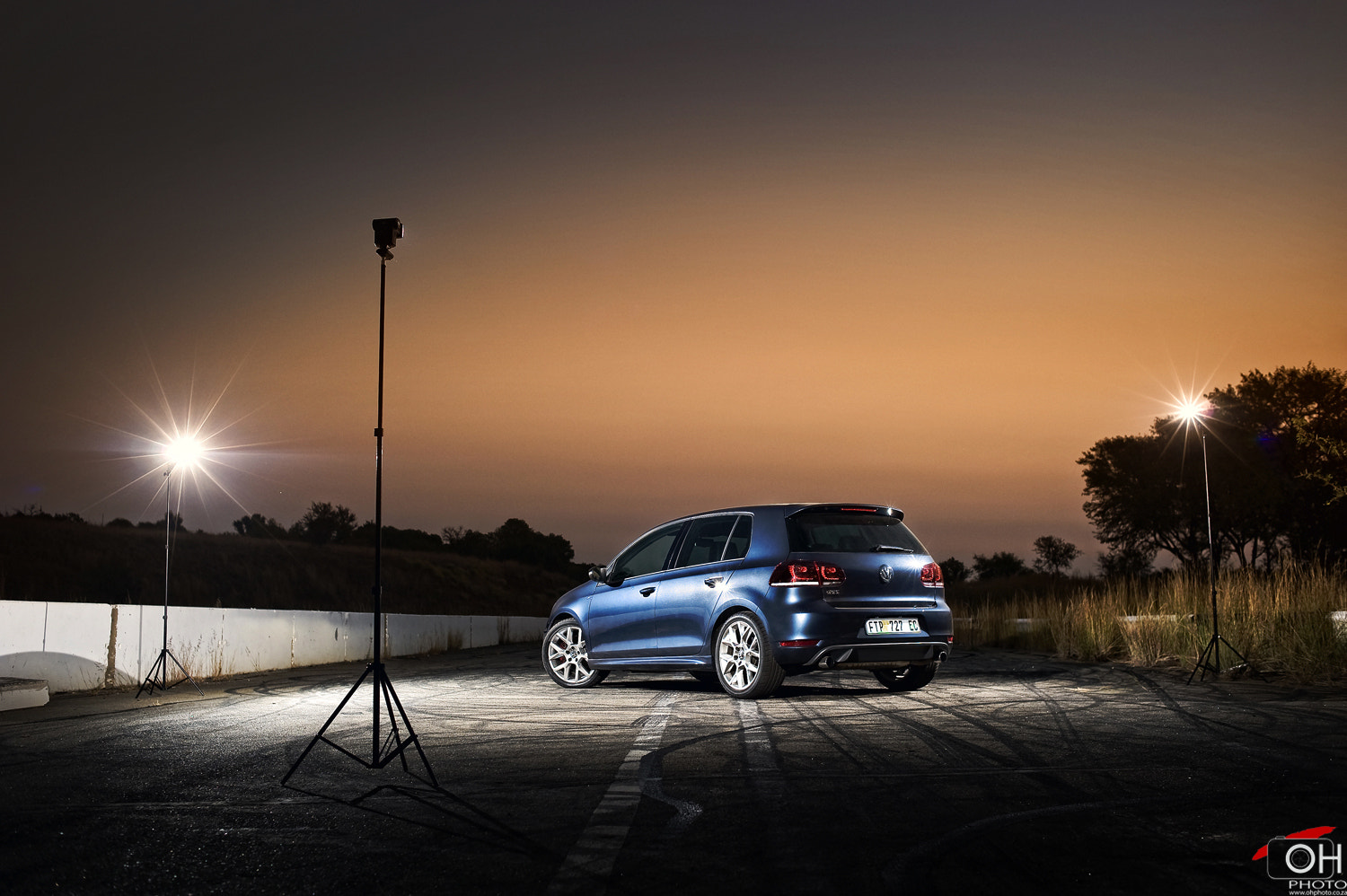Photograph VW Golf GTI 35 Under Lights by Oliver H on 500px
