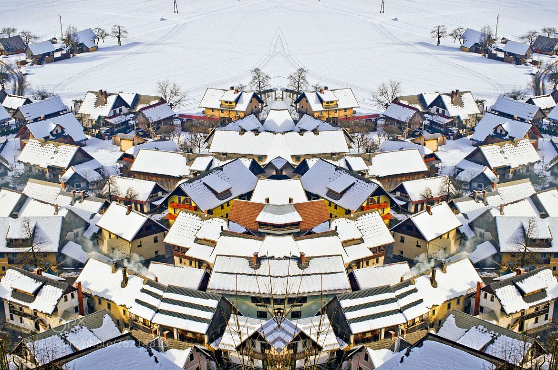 Photograph A Rotating Village Mirror by Edvard - Badri Storman on 500px