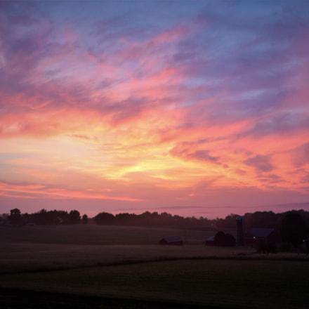 pastel sunrise, Nikon D3300, AF-S DX Nikkor 18-55mm f/3.5-5.6G VR II