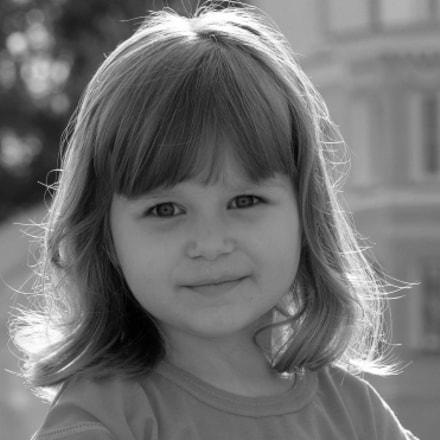 портрет, Nikon D90, AF-S Nikkor 85mm f/1.8G