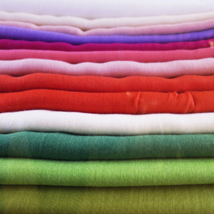group of colored sweaters, Canon POWERSHOT S120