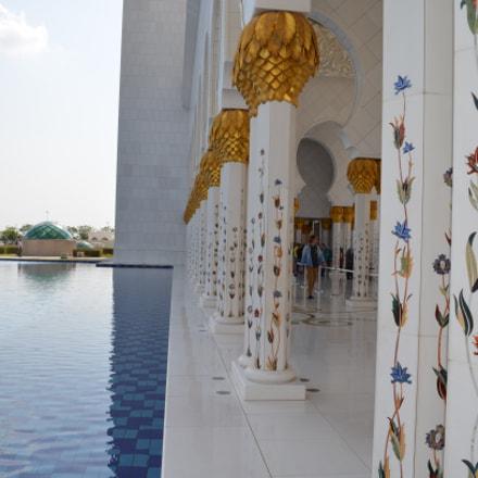 Sheikh Zayad Mosque, Abu, Nikon D5100, AF-S DX VR Zoom-Nikkor 18-55mm f/3.5-5.6G