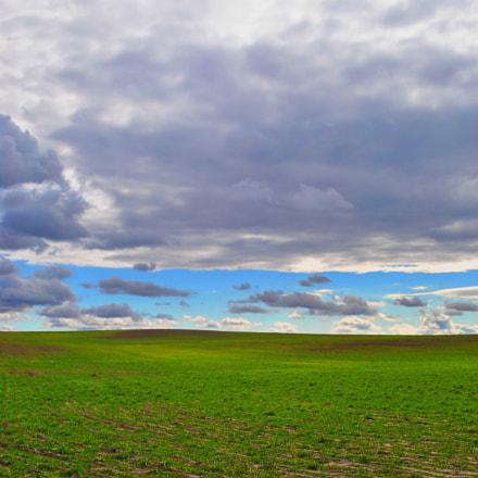 colorado field, Nikon D3000, AF-S DX VR Zoom-Nikkor 18-55mm f/3.5-5.6G
