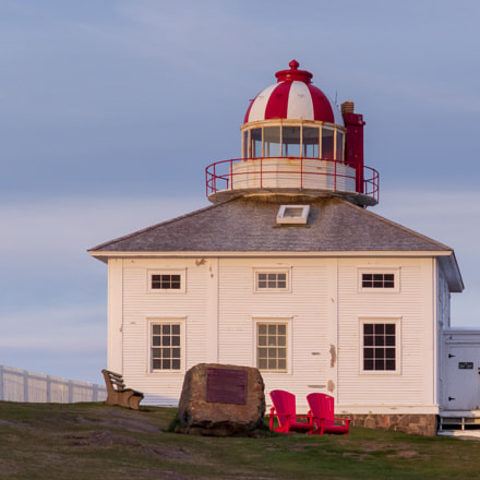 Lighthouse at Cape Spear, Canon POWERSHOT G16