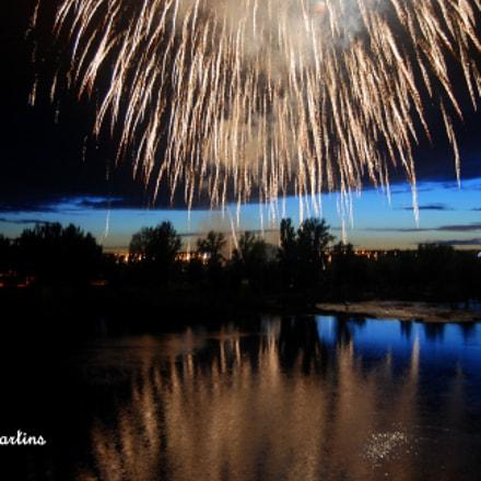 Reflejo en el rio, Nikon D60, AF-S DX Zoom-Nikkor 18-55mm f/3.5-5.6G ED II