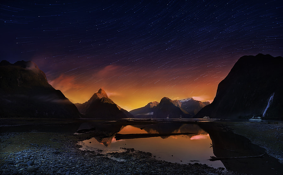 Photograph Milford sound2, NZ by Weerapong Chaipuck on 500px