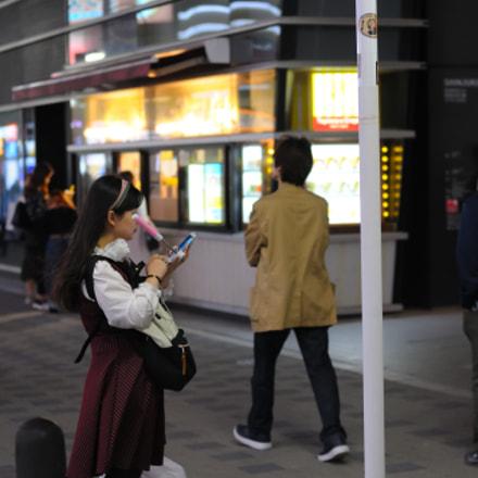 Selfie Girl, Nikon D300, AF Nikkor 50mm f/1.4D