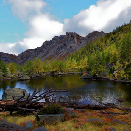 lac de Fontanalbe Mercantour, Nikon D7000, AF-S DX VR Zoom-Nikkor 18-105mm f/3.5-5.6G ED
