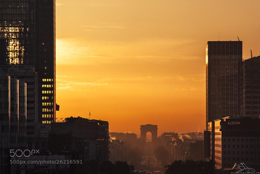 Photograph Golden Paris by Bastien HAJDUK on 500px