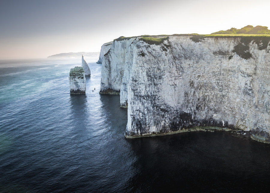 Canoeing in No Man's Land - Old Harry Rocks by SydsPics  on 500px.com