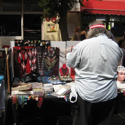 Market in Tel Aviv, Canon POWERSHOT SD750