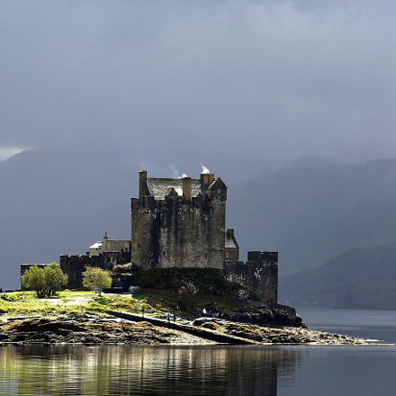 Eilean Donan Castle, Canon EOS 6D, Canon EF 70-200mm f/4L IS
