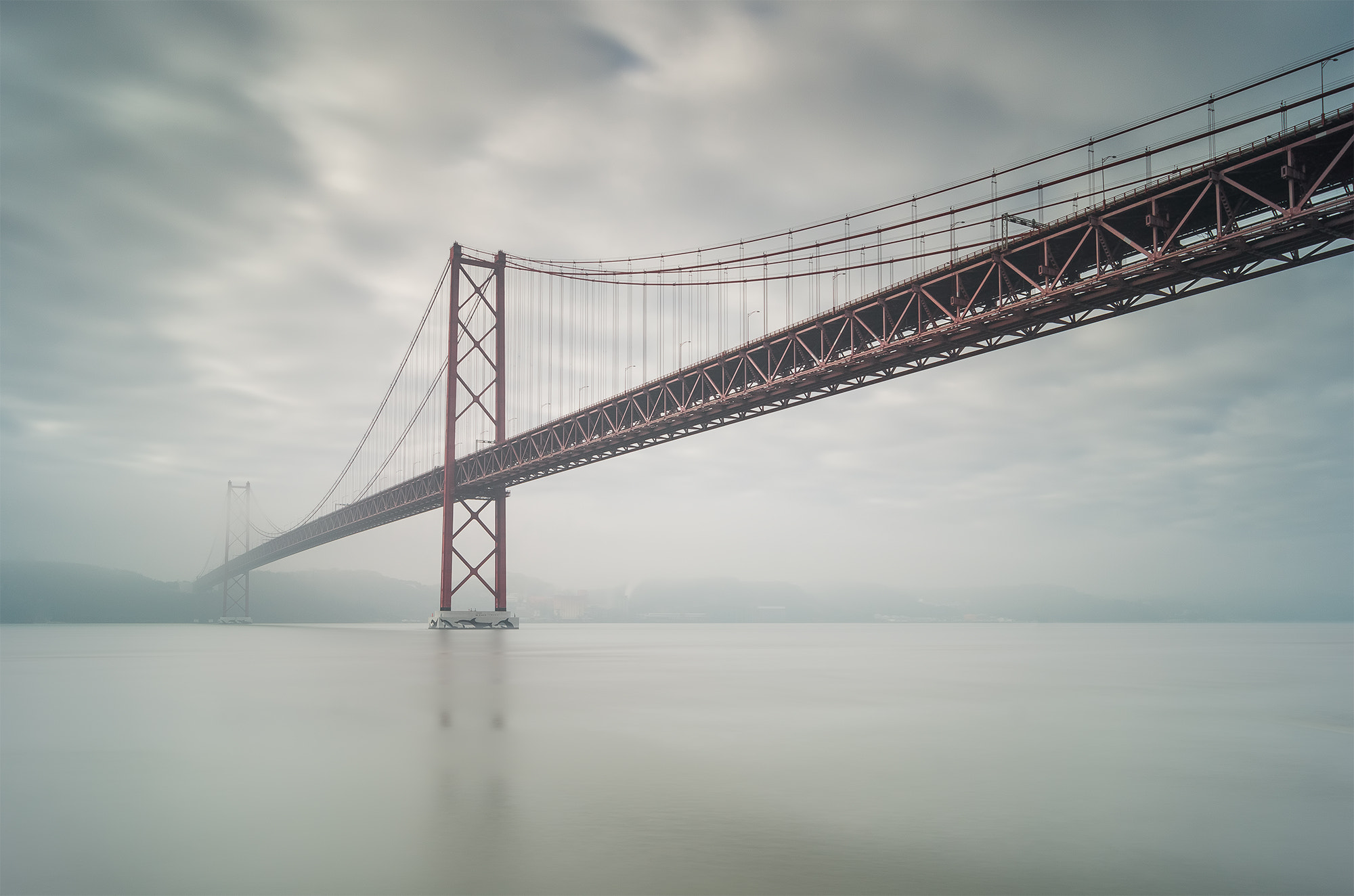 Photograph Bridge 25 de Abril by Emanuel Fernandes on 500px