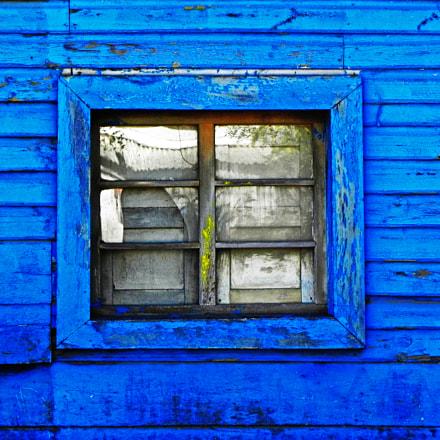 Vista azul, Nikon COOLPIX P100