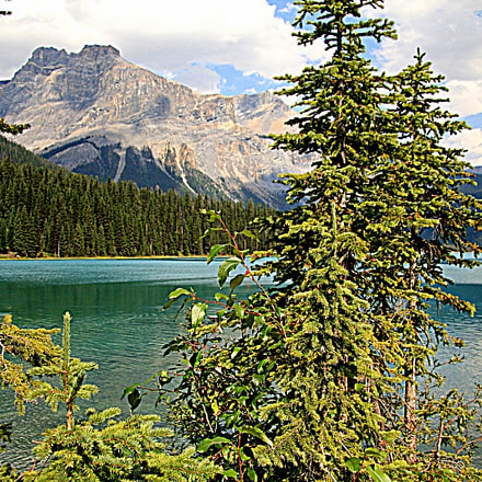 Emerald lake ( BC ), Canon EOS 40D, Canon EF-S 17-85mm f/4-5.6 IS USM