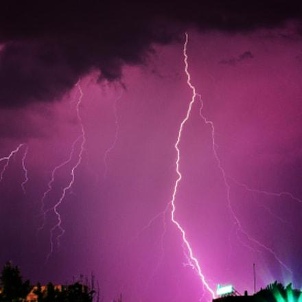 Thunder / Storm, Nikon D750, AF-S Nikkor 50mm f/1.8G