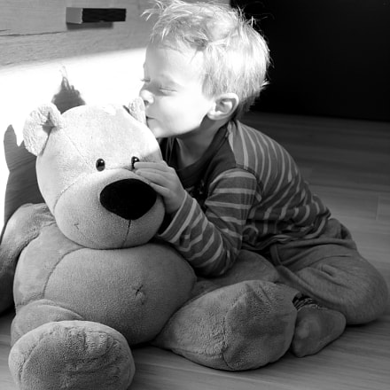 Liam & Teddy, Canon EOS 650D, Canon EF-S 18-55mm f/3.5-5.6 IS II