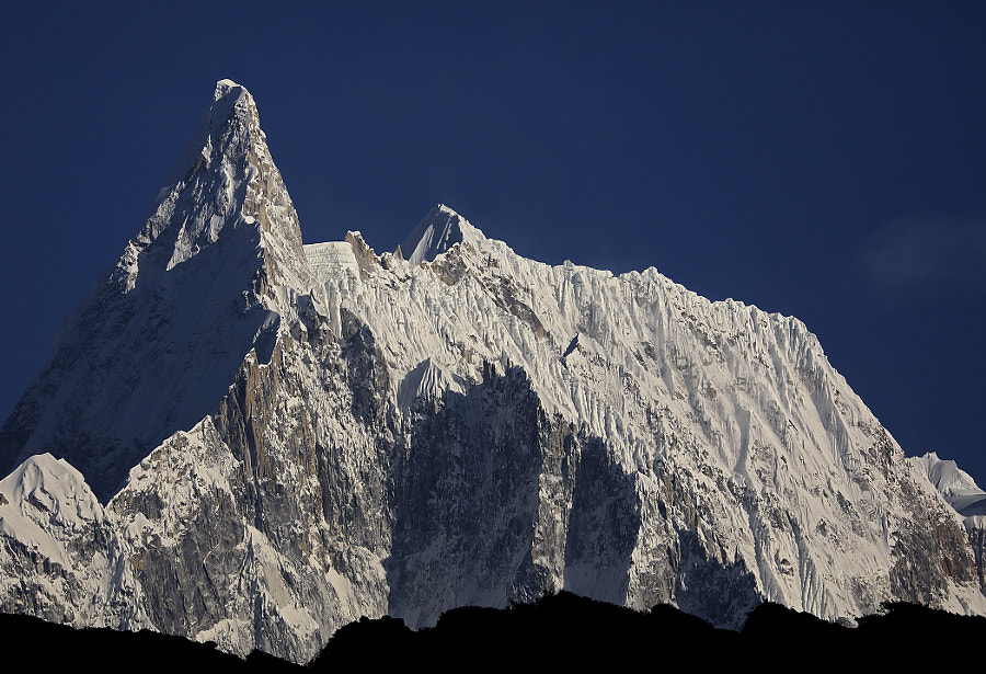 A majestic morning in the Himalayas, автор — Сергей К на 500px.com