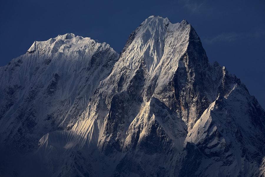 Morning tranquility of the Himalayas, автор — Сергей К на 500px.com