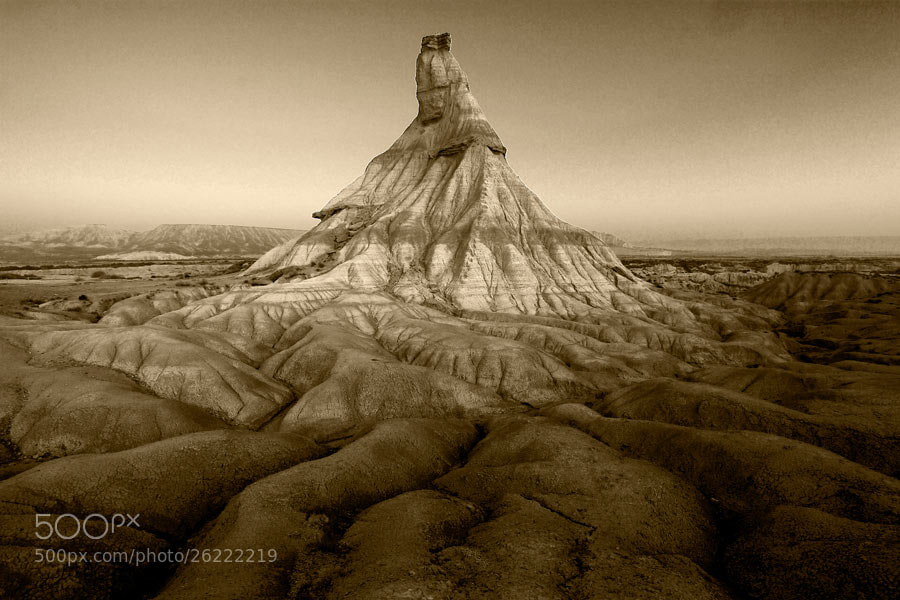 Photograph Bardenas by Andrés López on 500px