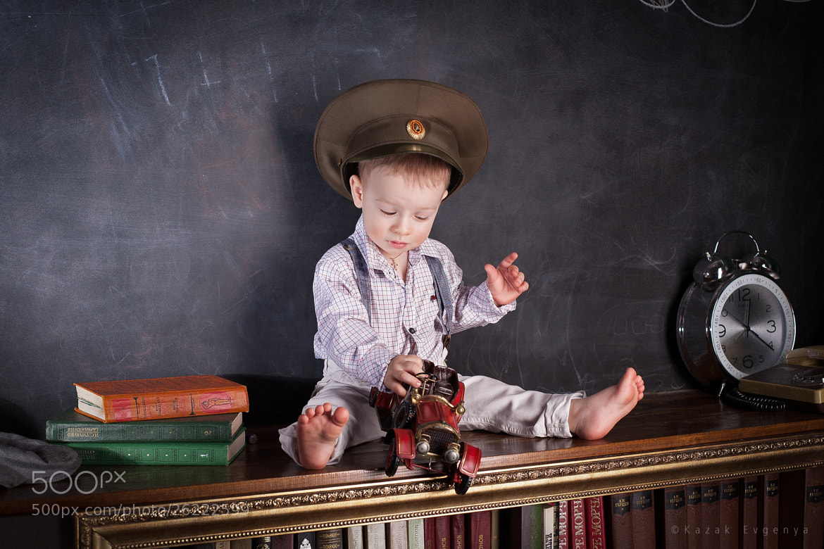 Photograph small commander by Evgenia Kazak on 500px