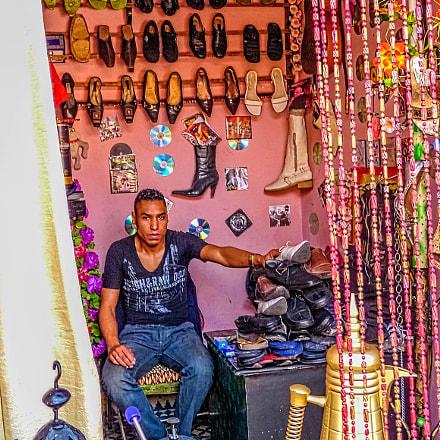 Marrakech el zapatero de, Panasonic DMC-FZ28