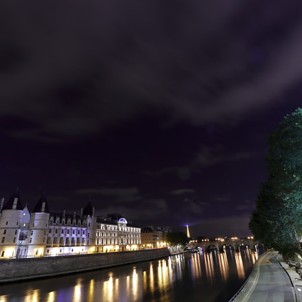 La Seine et la, Canon EOS 77D, Canon EF-S 10-18mm f/4.5-5.6 IS STM
